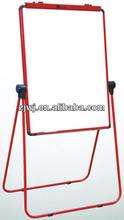 Jiangsu YDB-002 U dupla - Face White Board flip chart dobrável china fabricante dupla Face seca apagar ardósia preta quadros de giz