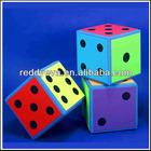 2014 colorful eva foam straight corners dot dices