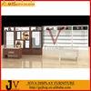 Custom baking paint or wood veneer optical shop display showcase design