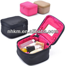 Multi-function Makeup Bag Case Cosmetic Bag With Mirror Handbag Insert Bag