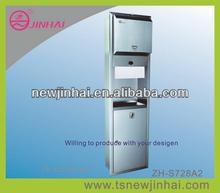 Recessed Toilet Paper Holder/Automatic Sensor Paper Towel Dispenser