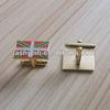 Custom enamel England flag logo cufflink/Country flag cuff links