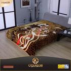 2014 OTSU KEORI 2ply super soft printed 100% polyester blanket ,raschel blanket, mink blanket