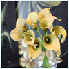 The Chinese artificial flower factory production and wholesale mini calla lilies