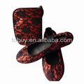 Mulheres baratos dobrável shoeswomen's ballet sapatos casuais, estilo de dobramento,
