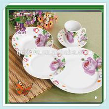 Flower design ceramic table set,royal design dining table sets,ceramic garden table set