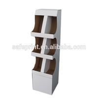 New Design Cardboard free standing toy shop display counter shelf
