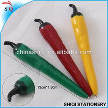 pepper shape gift items plastic ballpoing pen