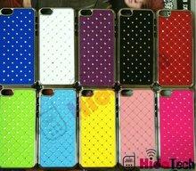 Full Diamond Star Case For iPhone 5,Hard Case Chrome Design,In Stock,OEM