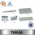 alumínio quatro portas janela porta de correr ferragens tmk4a