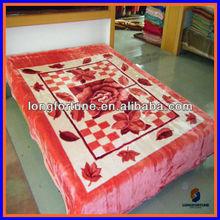 animal printed mink blanket