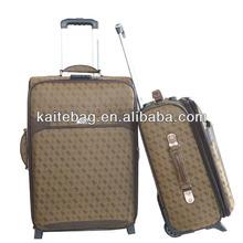 Baigou factory printed fabric truck luggage trolley