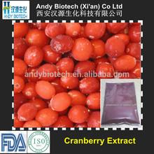 5% Anthocyanidins Cranberry Extract Powder