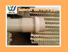 good white pvc pipes