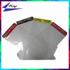 Printed plastic opp poly bag with header