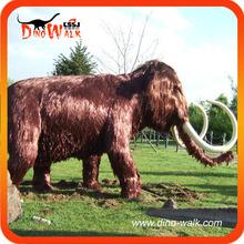 Amusement park facility artificial mammoth 5 meters long