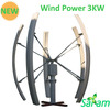 3KW Vertical Axis Wind Power Generator