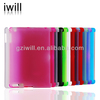 Frosted pc case for ipad2/3/4 ,Matt plastic case for ipad case china
