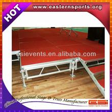 1m x 2m aluminum modular stage