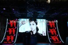 xxxl sexy led tv video wall glass led display board price