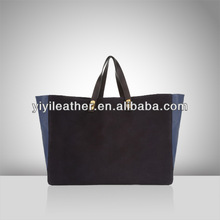 S376 High Quality Nubuck leather tote handbag for woman,polyurethane leather bags from YIYI Brand