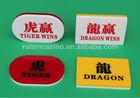Casino Dragon and tiger button set