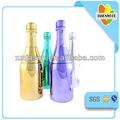 große plattieren Champagner kunststoff wasserflasche