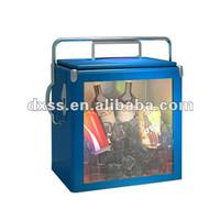 Fashional Nevy-blue Marine Metal Glass Aquarium Cooler