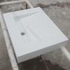 rectangular vanity sink, bath kitchen vanity sink
