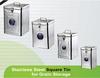 stainless steel food storage bin
