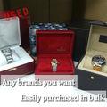 Usado relógio marca famosa em todo o mundo para 100% autênticos garantida de segunda mão