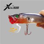 70mm 9.5g,90mm 16g 110mm 33g popper hard plastic fishing lures wholesale fishing lure
