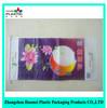 Shock resistance plastic food packaging bag / rice packaging material bag