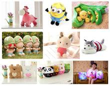 2014 New customized plush toy animal/plush pillow/cushion/talk toy
