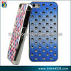 new product 2014 innovation diamond sticker pc cell phone cover case for iphone 5