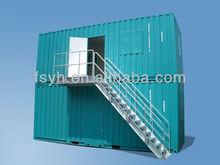 steel design burglar proof container homes