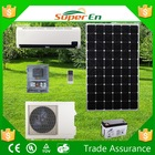 solar air conditioner, 100% DC 48V, 12000BTU, cooling & heating