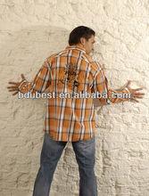 Factory offer designer slim fit body fit shirts