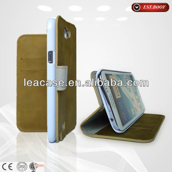 protective case for samsung galaxy s3 mini-wallet style stand phone cover