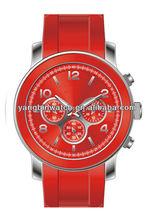2014 new MK style fashion mens wrist watch silicone