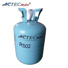 Purity more than 99.9% Refrigerant gas, R502 gas refrigerant ,13.6kg