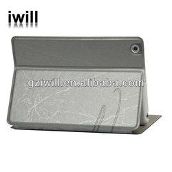 for apple ipad mini tablet case, fashion design leather case for mini ipad