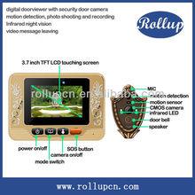 recordable door alarm, auto video door intercom, prevent peeping viewer
