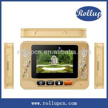 GSM door alarm, auto shooting video intercom, android smart door viewer