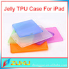 Candy colors new soft back slicone case for ipad mini