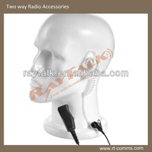 High Quality Walkie Talkie Acoustic Tube Earpiece Two Way Radio Headset