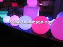 led crystal magic ball light for garden