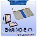 Usado para o portátil, pos, meados de polímero de lítio bateria do mundo
