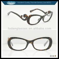 unique novelty eyeglasses frames with diamond
