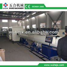the well performance high quality PVC pipe extrusion line
